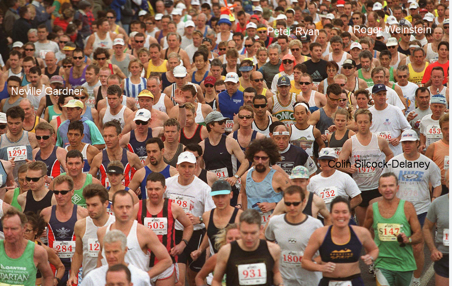 Starters in the ? marathon